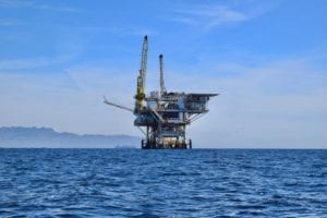 the jones act blog photo of an oil rig at sea